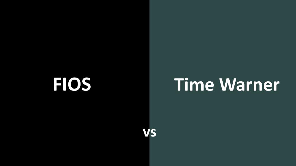 Fios vs Time Warner